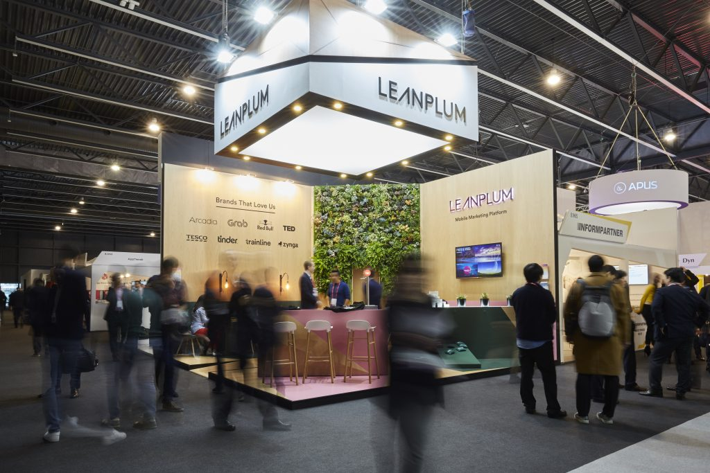 Leanplum booth - MWC