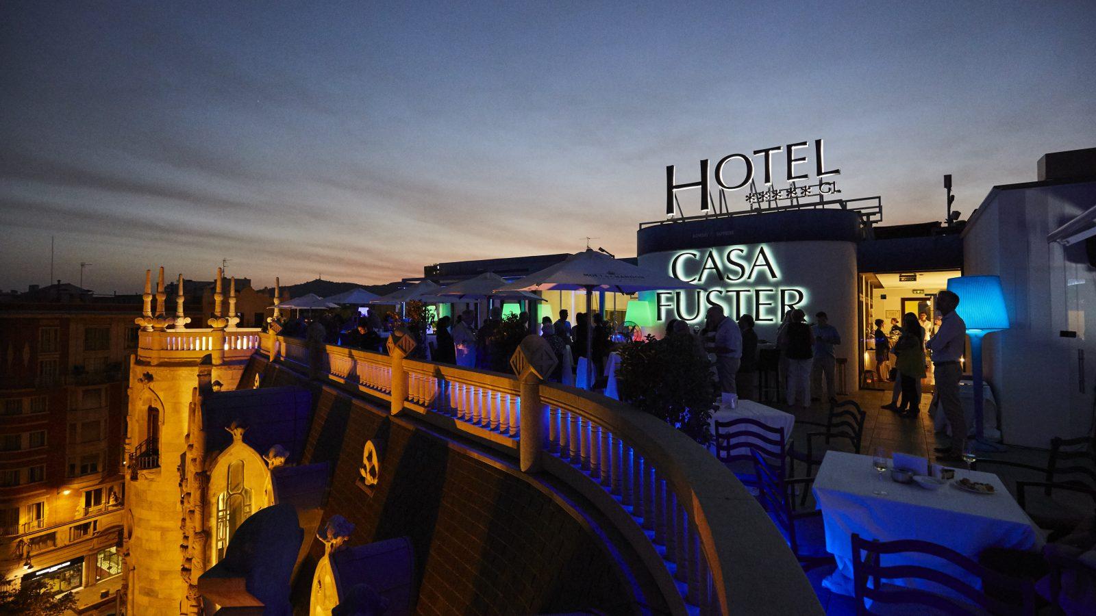 rooftop terrace event venue Barcelona