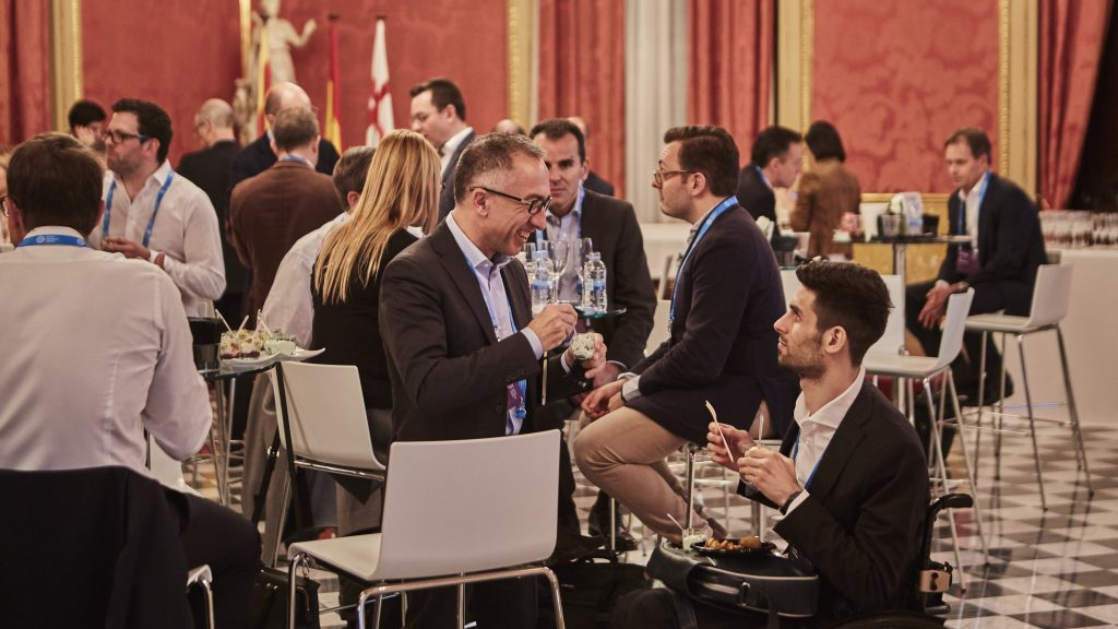 Networking and lunch at Digital Insurance Agenda (DIA) Barcelona 2016