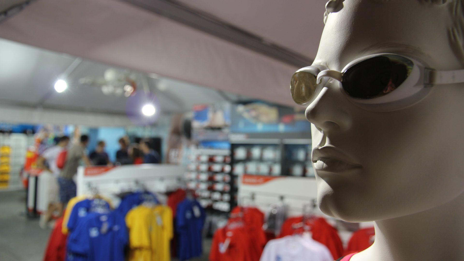 World Aquatics Championships in Barcelona - temporary store