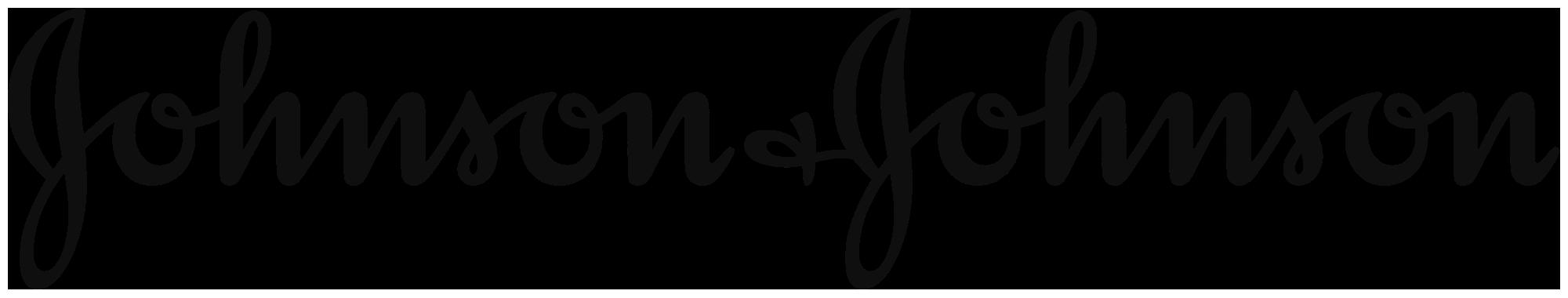 Client - Johnson&Johnson - logo black