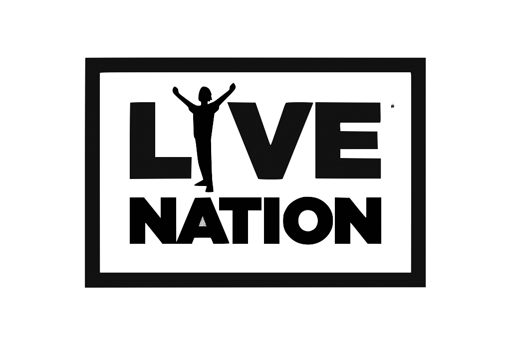 Client - Live Nation - logo black