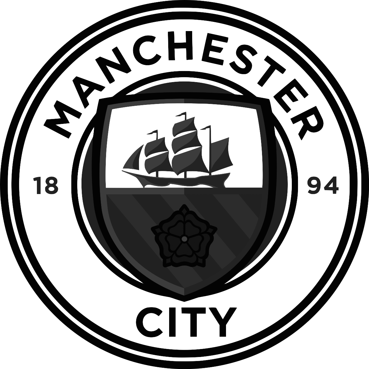 Client - Manchester City - logo black