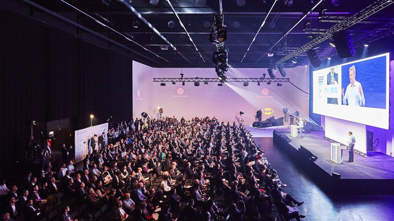 presentation stage DIA congress
