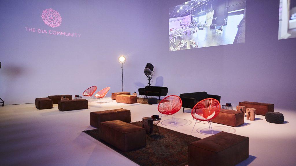 Lounge area congress conference design
