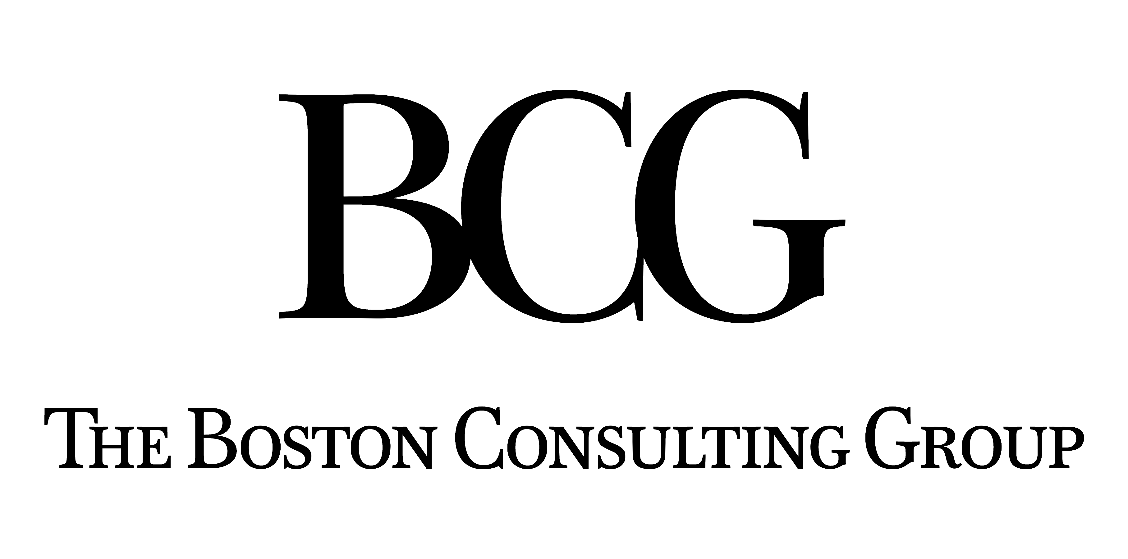 Client - The Boston Consulting Group - Logo black