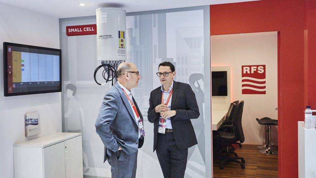 RFS booth at MWC 2019