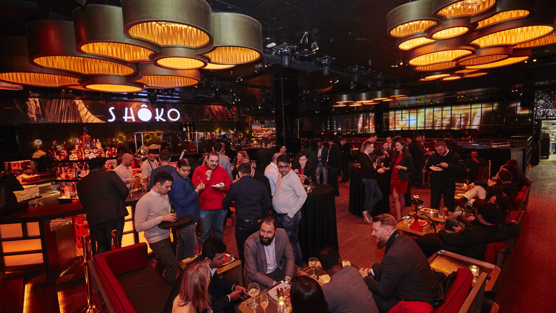 Evening party for Karix' clients during MWC 2019