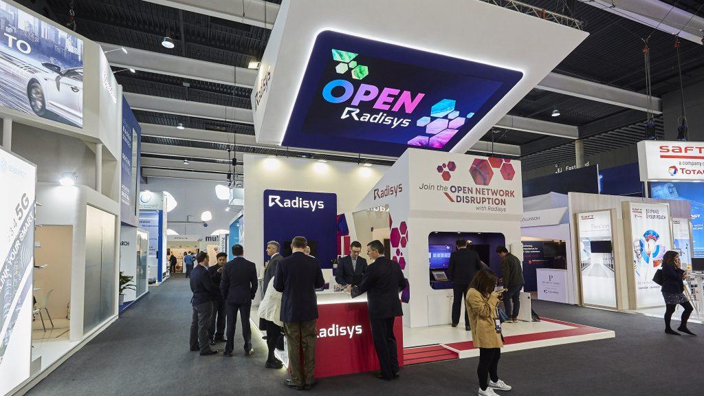 Radisys stand at MWC 2019