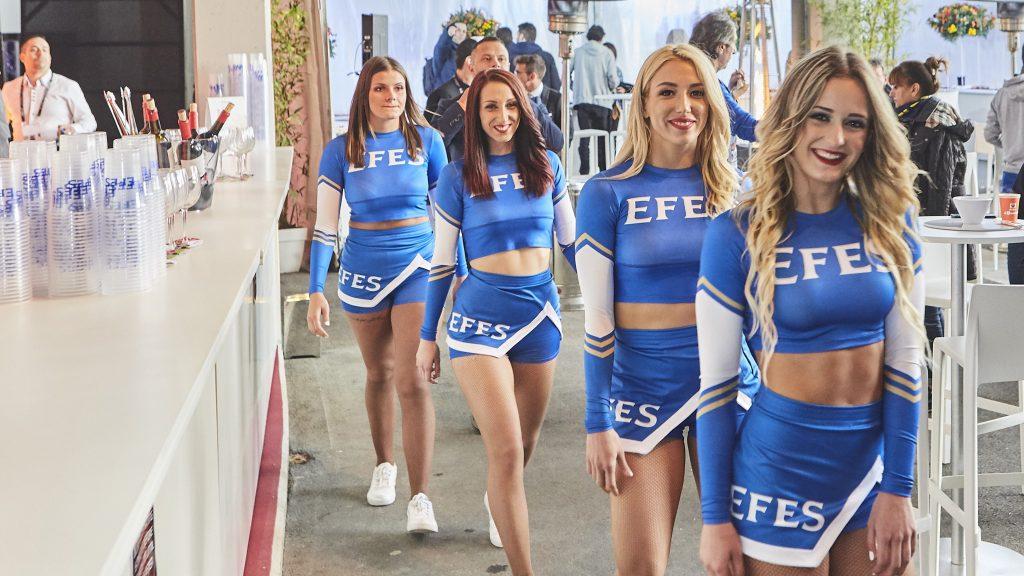 Cheerleaders, Euroleague Final Four, Vitoria