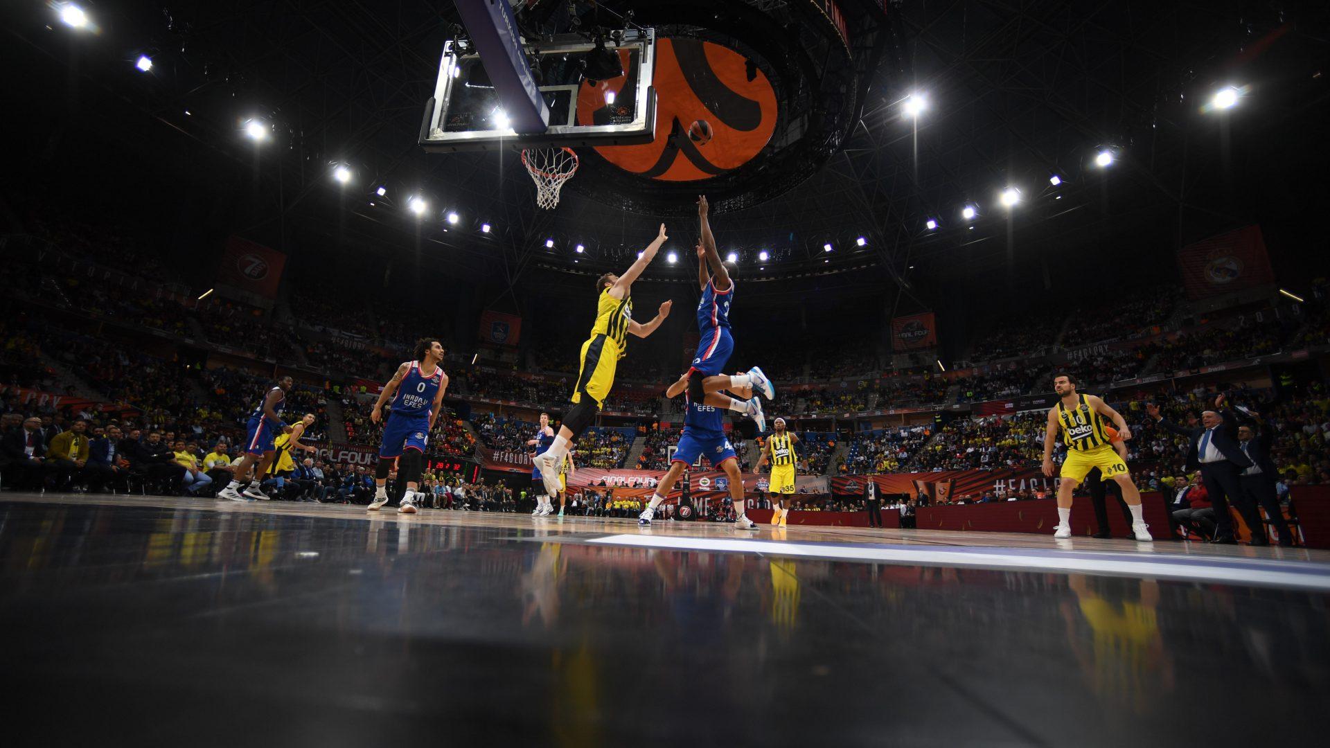 Match moment - Euroleague Basketball Final Four in Vitoria