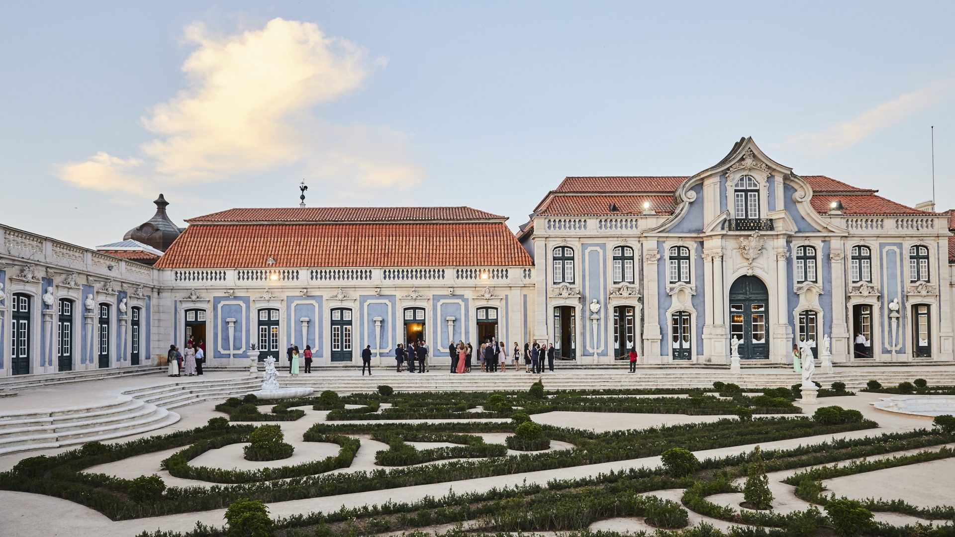 Lisbon palace with French gardens - a venue for events