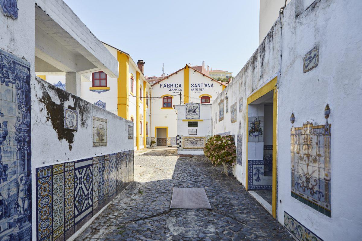 Lisbon, Portugal - traditional azulejo factory
