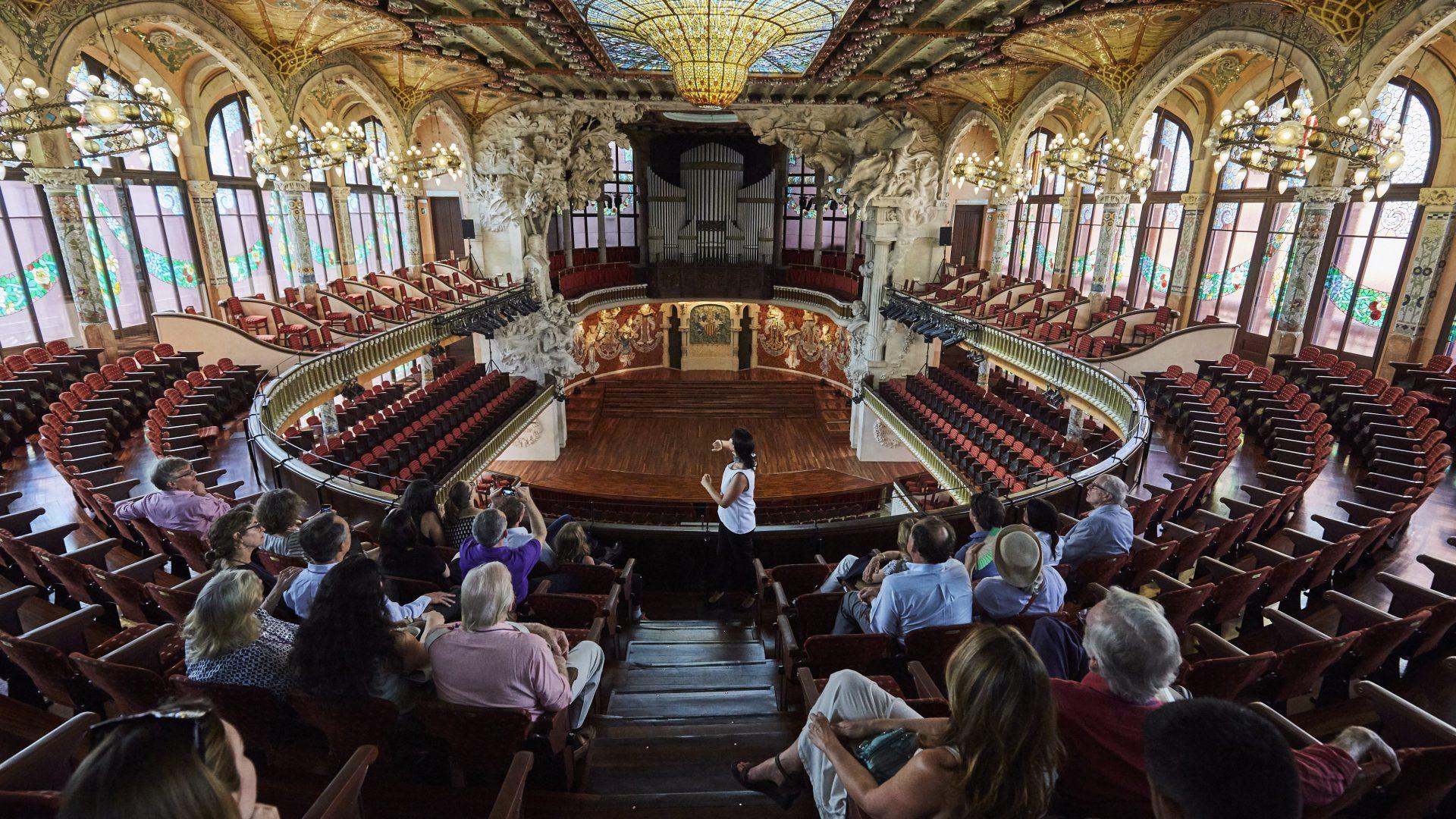 Historical concert venue in Barcelona