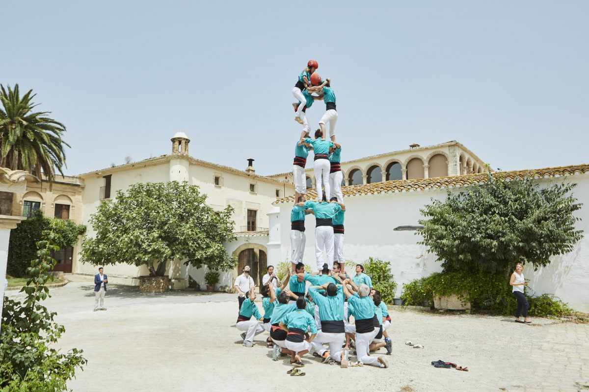 Castellers - extraordinary event entertainment in Barcelona