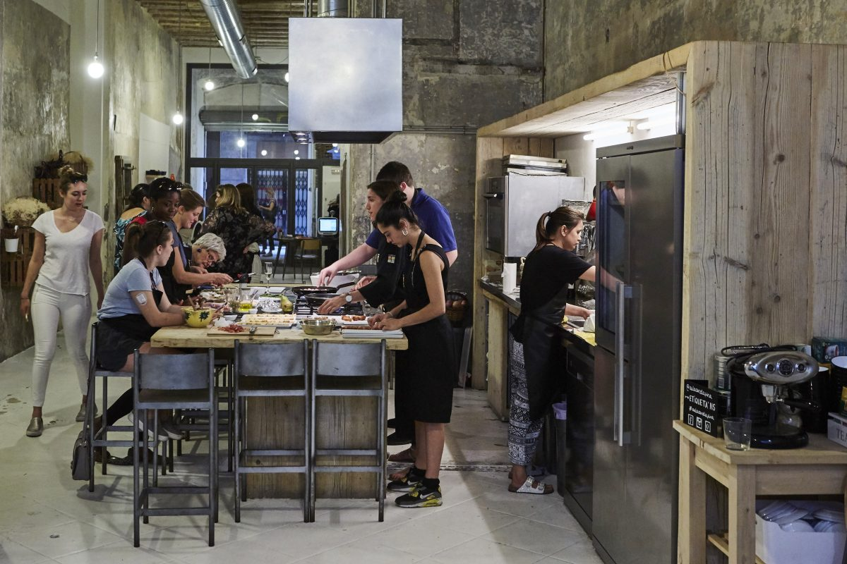 Cooking workshops for conference attendees in Barcelona